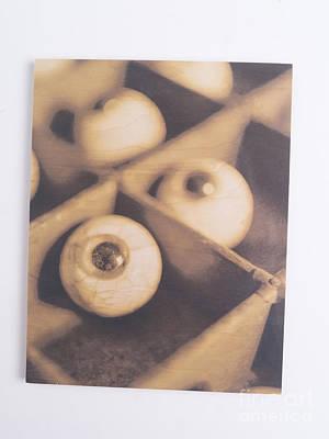 Original - Eyeballs On Wood Original