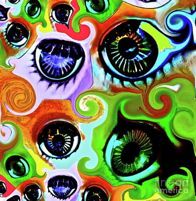 Eyecandy Art Print by Gwyn Newcombe