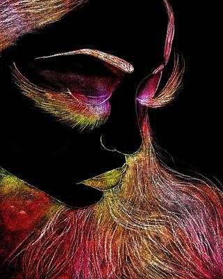 Eyelash Beauty Art Print