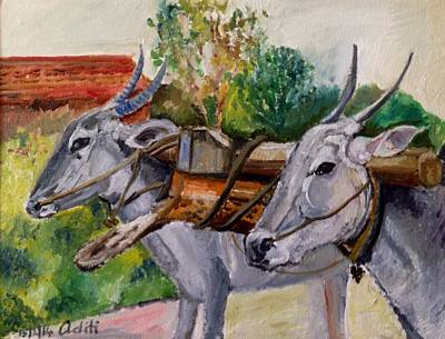 Painting - Eyes by Aditi Bhatt