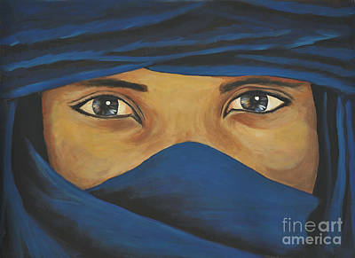 Eyes Art Print by Daniela Abrams