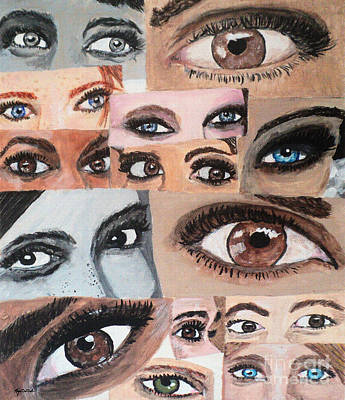 Painting - Eyes Have It by Megan Dirsa-DuBois