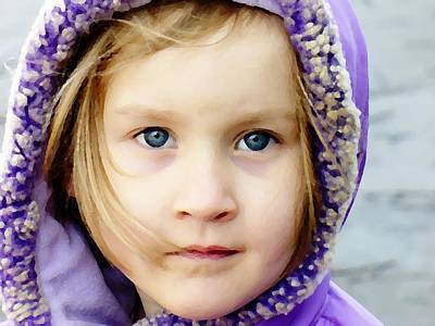 Photograph - Eyes Of Innocence by Deena Stoddard