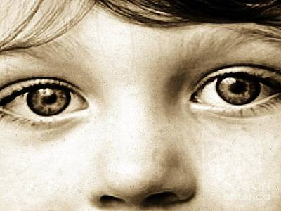 Photograph - Eyes Of Innocence by Marcia Lee Jones