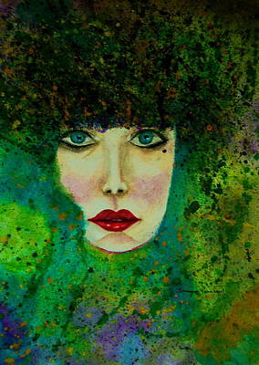 Painting - Eyes Of The Forest by Tamyra Crossley