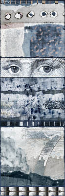 Pattern Photograph - Eyes On Seven by Carol Leigh