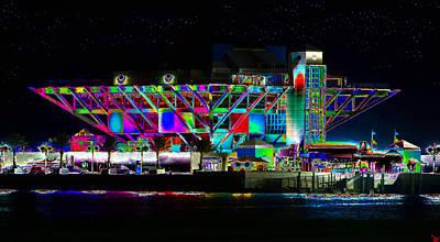 Pier Digital Art - Eyes On The Pier by David Lee Thompson