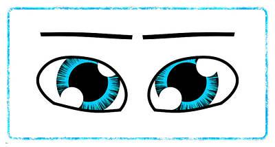 Digital Art - Eyes... by Tim Fillingim
