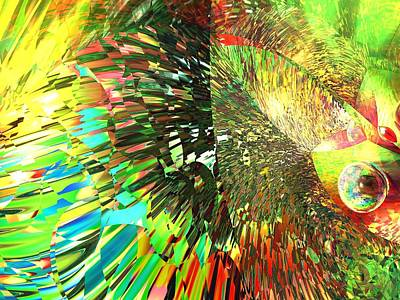 Marble Eyes Digital Art - Eyesplash by Erik Tanghe