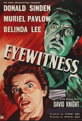 Eyewitness, Us Poster, Donald Sinden Art Print