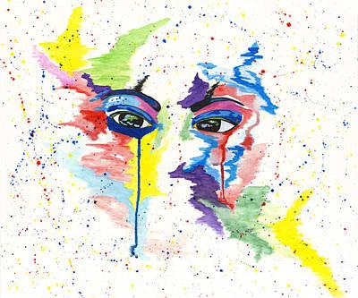Painting - Eyez by Rishanna Finney