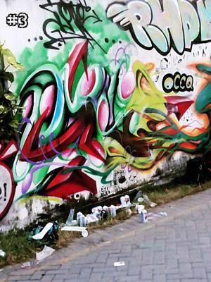 Eyioce Painting - Eyioce #3 by Oke Masdiananta