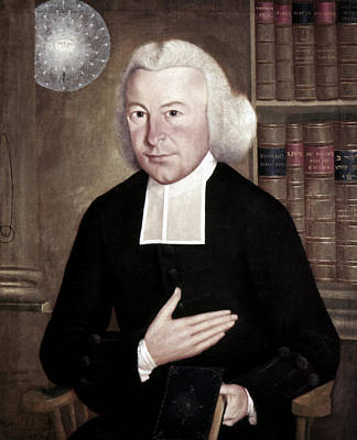 Painting - Ezra Stiles (1727-1795) by Granger
