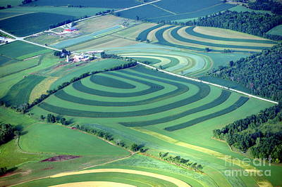 Photograph - F-012 Fields Of Patterns by Bill Lang