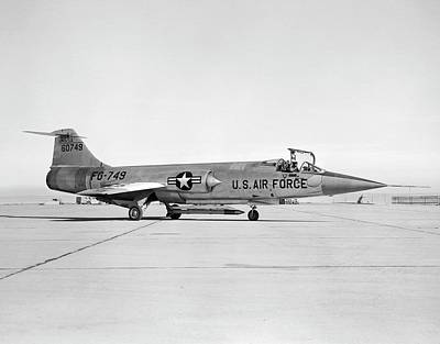 Aeronautics Photograph - F-104 Starfighter by Nasa