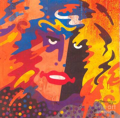 Steven Tyler Mixed Media - F-11 by Robert Fennell