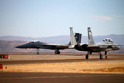 F15 Wall Art - Photograph - F-15 Eagle Taxi by Saya Studios