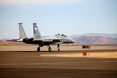 F15 Wall Art - Photograph - F-15 Taxi by Saya Studios