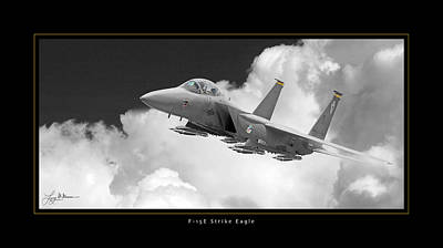 F-15e Strike Eagle Art Print by Larry McManus