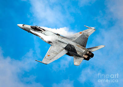 Photograph - F-18 Fighter by Rastislav Margus
