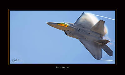 Photograph - F-22 Raptor by Larry McManus