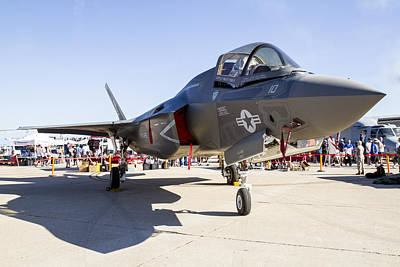 Photograph - F-35 by Jim Moss