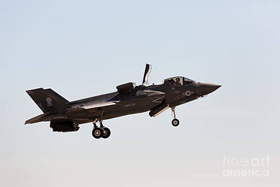 Joint Strike Fighter Photograph - F-35 Lightning II by John Daly