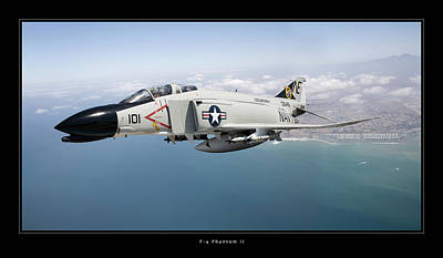 Photograph - F-4 Phantom II by Larry McManus