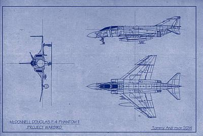 Mcdonnell Douglas F-4 Phantom Ii Digital Art - F-4 Phantom II Warbird Project by Tommy Anderson