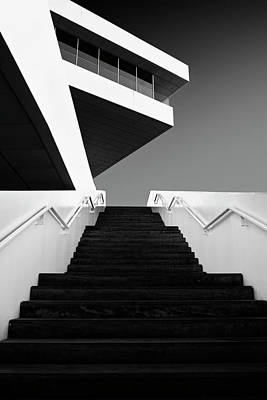 Staircase Photograph - F by Dominic D?hncke