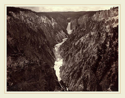 Grand Canyon Drawing - F. Jay Haynes American, 1853-1921, Grand Canyon by Litz Collection