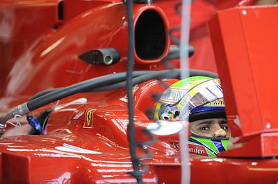 Race Drivers Photograph - F1 Driver Felipe Massa by Rafa Rivas
