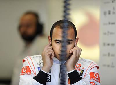 Race Drivers Photograph - F1 Driver Lewis Hamilton by Rafa Rivas