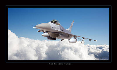 Photograph - F16 Fighting Falcon by Larry McManus