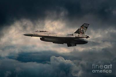 F16 Tiger Art Print