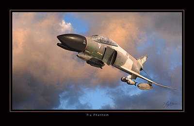 Photograph - F4 Phantom Air Force by Larry McManus