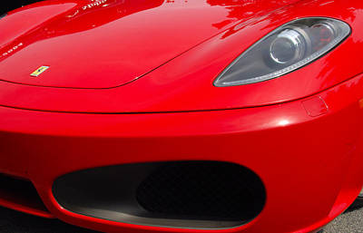 Photograph - F430 Nose by John Schneider