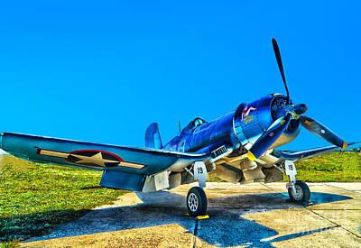 Photograph - F4u Corsair My Marines Dream  by Nick Zelinsky