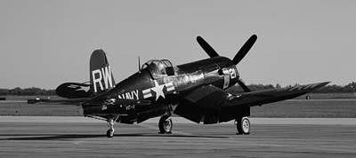 Ww11 Aircraft Photograph - F4u Corsair by Richard Booth
