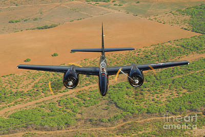 Giuseppe Cristiano - F7f Tigercat In Formation Flight by Phil Wallick