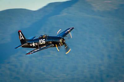 Aircraft Photograph - F85 Bearcat by Ken McAllister