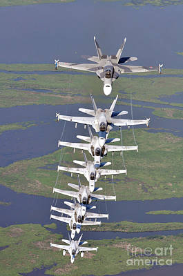 Fa18 Hornets Assigned The River Rattlers Art Print by Paul Fearn
