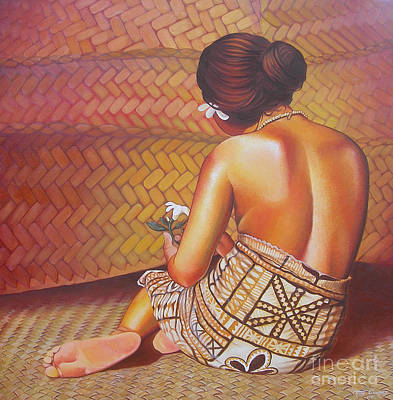Samoan Painting - Fa'angase by Troy Carney