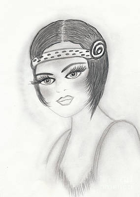 Drawing - Fab Flapper by Sonya Chalmers