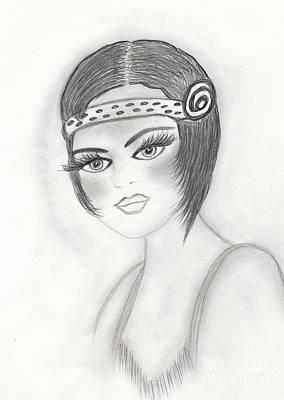Drawing - Fab Flapper by Sonya Chalmers