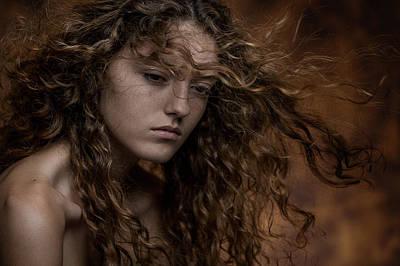 Emotion Wall Art - Photograph - Fabienne by Carine Belzon