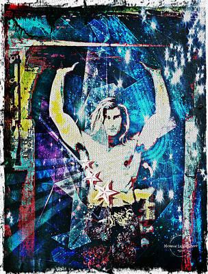 Digital Art - Fabio Pop Art by Absinthe Art By Michelle LeAnn Scott