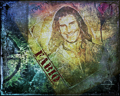 Digital Art - Fabio Romance by Absinthe Art By Michelle LeAnn Scott