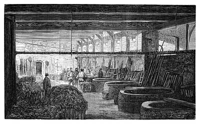 1874 Photograph - Fabric Boiling House by Science Photo Library