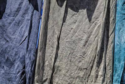 Superhero Ice Pop - Fabric in Sunlight by Robert Ullmann